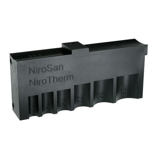 NiroSan® Universalschablone - NiroSan® Universalschablone zum Markieren der Einstecktiefe