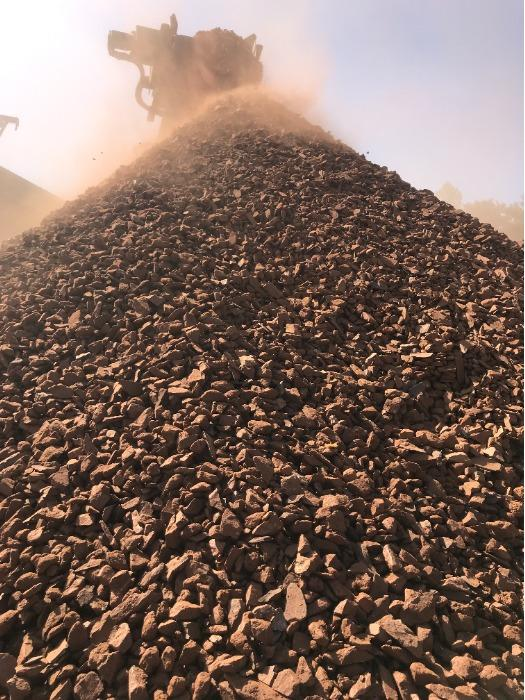 Bauxite Ore - Lumpy Bauxite Ore - ready for shipment from stock