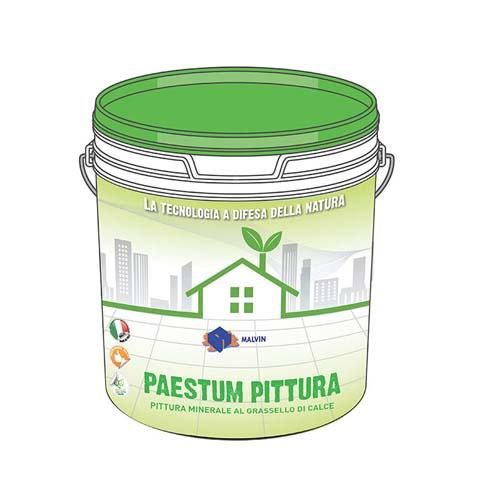 PAESTUM PITTURA a base di grassello di calce - Conforme alla direttiva 2004/42/CE