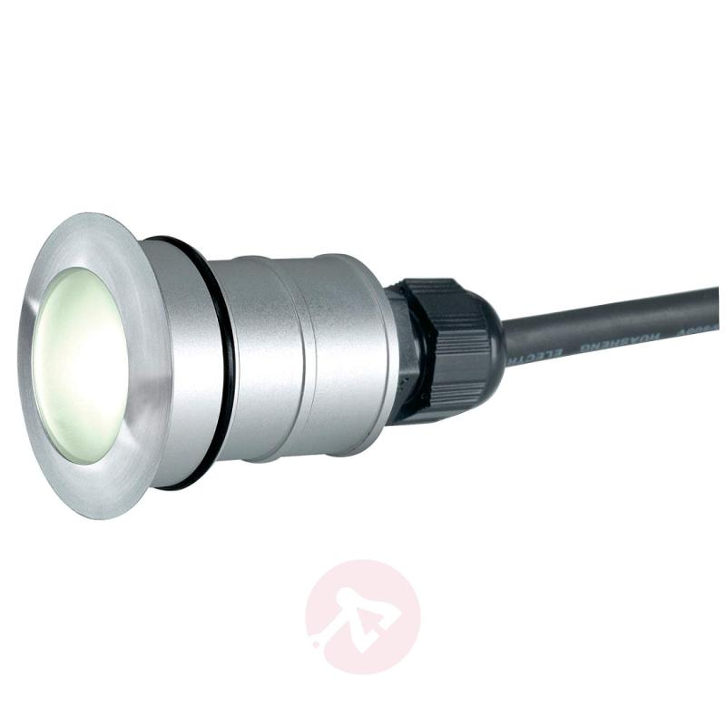 TRAIL-LITE ROUND LED In-ground Lamp, White - outdoor-led-lights