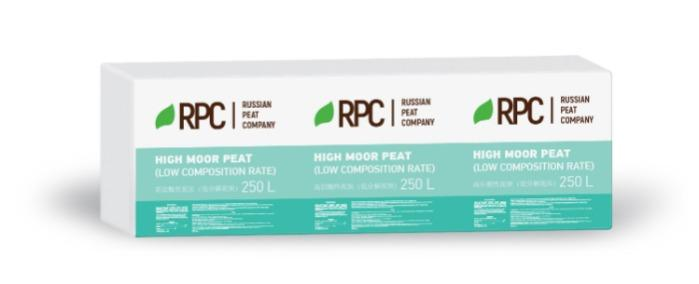 High moor peat (low composition rate)  -