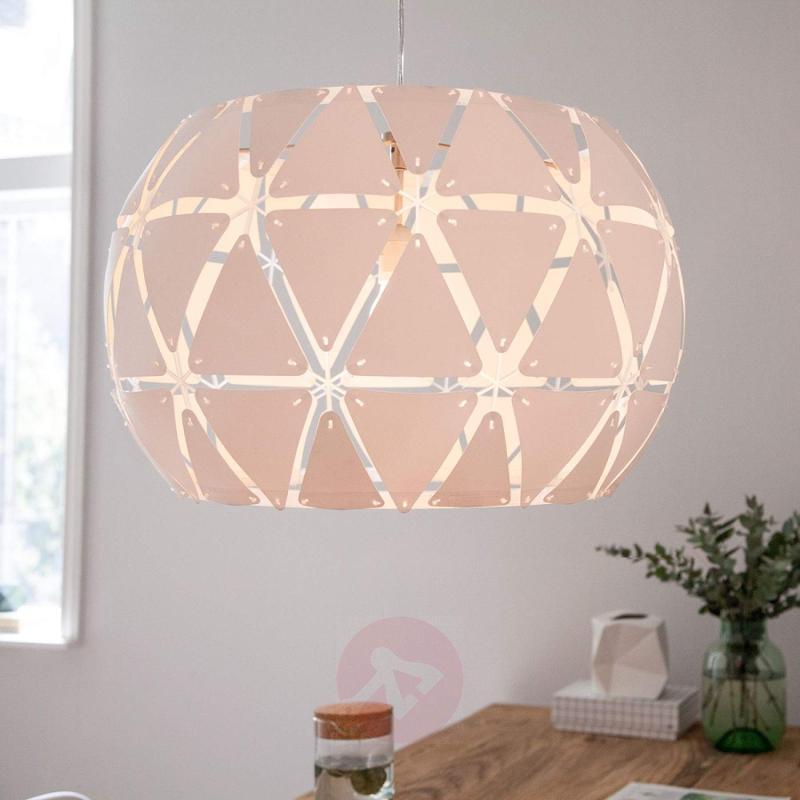 Elegant hanging light Sandalwood Smart Volume 60 - indoor-lighting