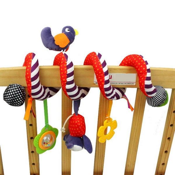newborn infant pram activity spiral stroller toy cot crib - Baby spiral stroller toys
