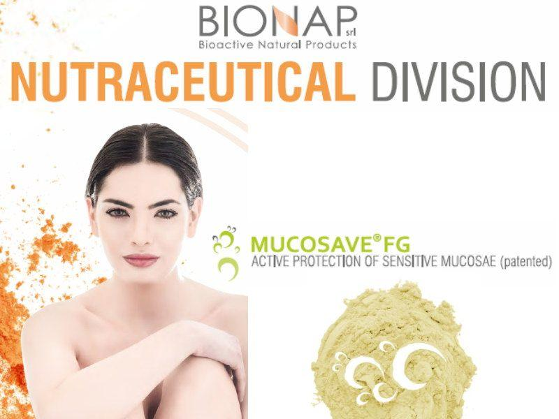 Mucosave FG -  Natural nutraceutical ingredients - Active protection of sensitive mucosae ( patented)