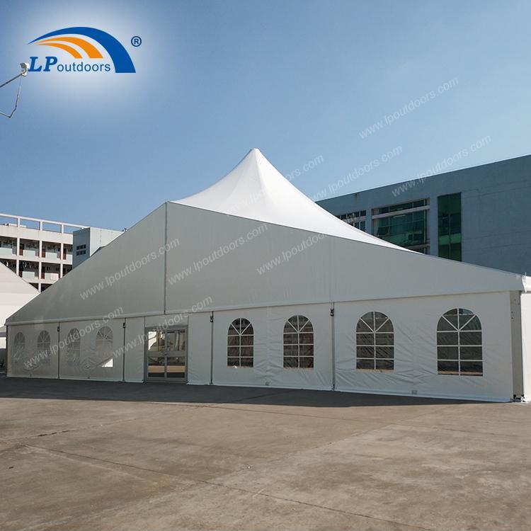 Cort de lux de înaltă petrecere în aer liber - Cort de petrecere de 25m din fabrica LP OUTDOORS