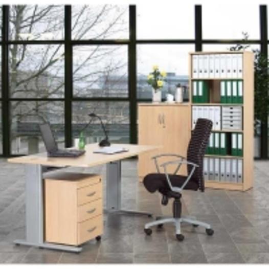 Komplettbüro- Einzelarbeitsplatz - null