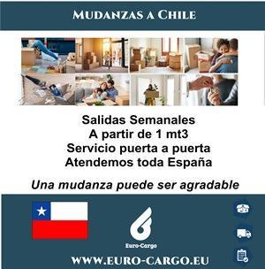 Mudanzas a Chile - Desde España y otros países de la Unión Europea
