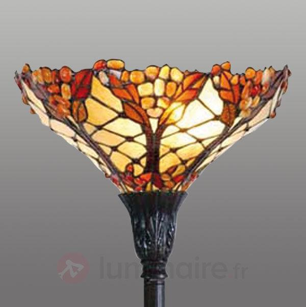 Lampadaire Hermine inspiration automnale - Lampadaires style Tiffany