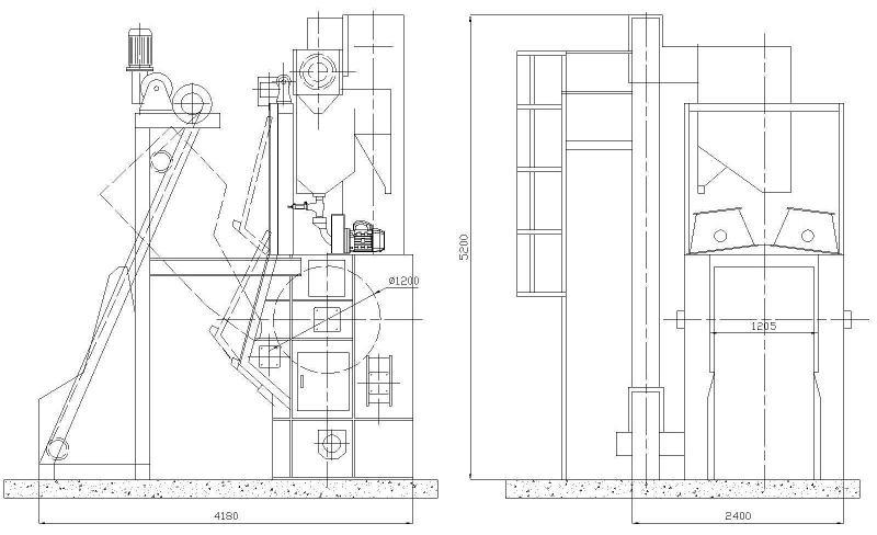 COSER - CS SBC600 - Sabbiatrici e granigliatrici