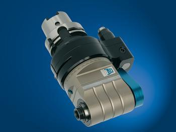 Input coolant from stop-block, and output through tool spindle. - TA13.PD