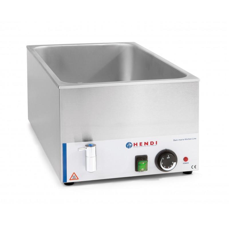 BAIN-MARIE ELECTRIQUE GN 1/1 - MAX H 150 MM, AVEC... - Référence REBA2V