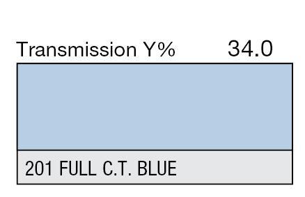 201 Full C.T. Blue - Farbfilter von LEE Filters