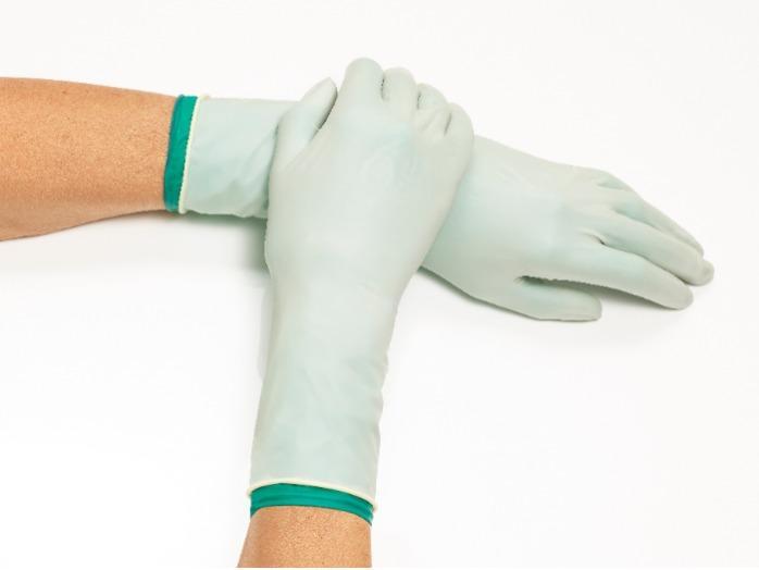 Chirurgische Handschuhe - Latex / Nitrile / Polyisoprene / DOUBLE PROTECTION / MAXIMUM PROTECTION