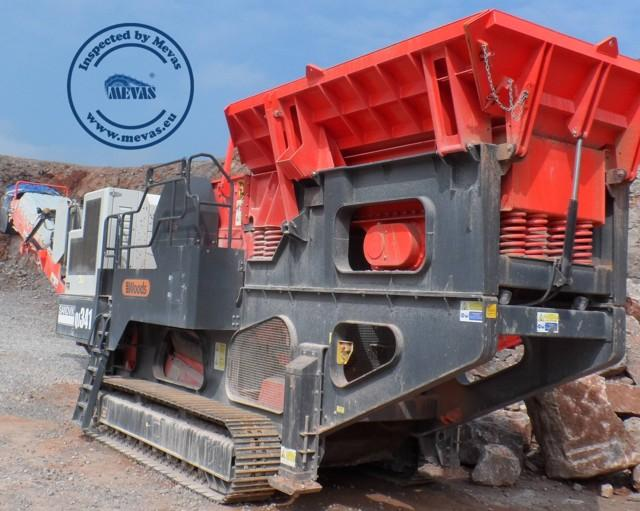 Expertise for quarrying machines and screening plants - Investigation of the technical status of second-hand shredders