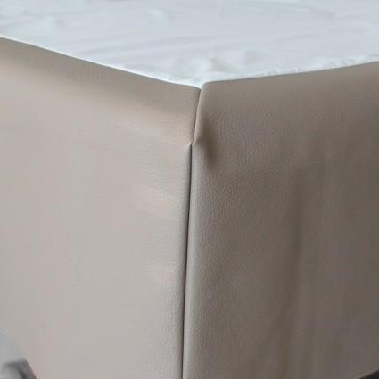 Cache-sommier et tête de lit - CACHE-SOMMIER EN SKAÏ BABY FORME BOITE SEMI-OUVERTE