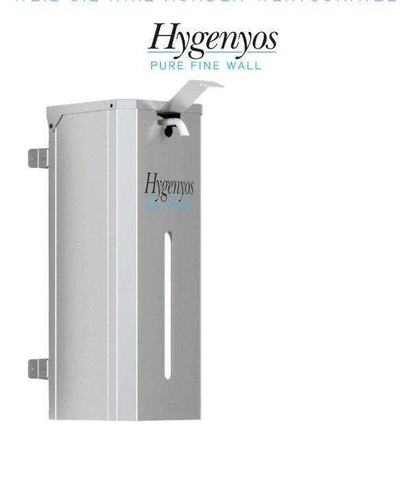 Hygenyos Pure Fine Wall - Hand-Desinfektions-Spender