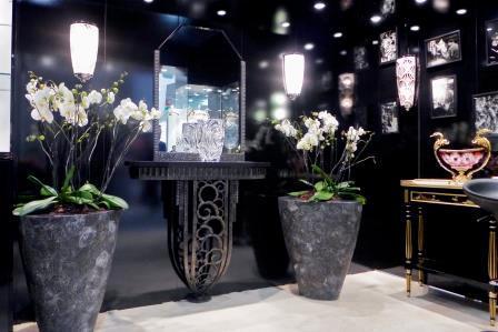 création d'objets en cristal de luxe