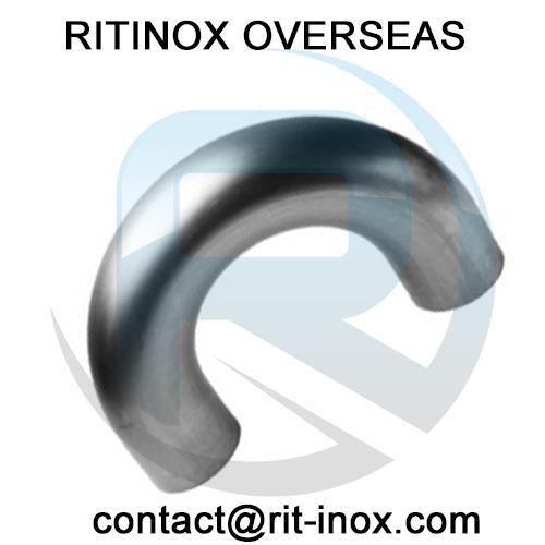 Inconel 718 180 degree LR Return Bends -