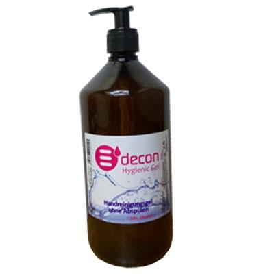 Edecon Hygienic Gel - Cleans your hands, protects your health and your skin