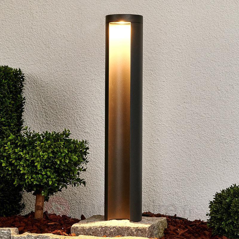 Borne lumineuse LED Jaron gris graphite - Bornes lumineuses LED