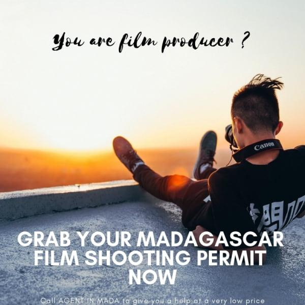 Authorization to shoot a film in Madagascar - Get your film shooting permit in Madagascar now ! Call AGENT IN MADA