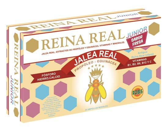 Royal jelly Junior - HELP TO REINFORCE THE NATURAL DEFENSES