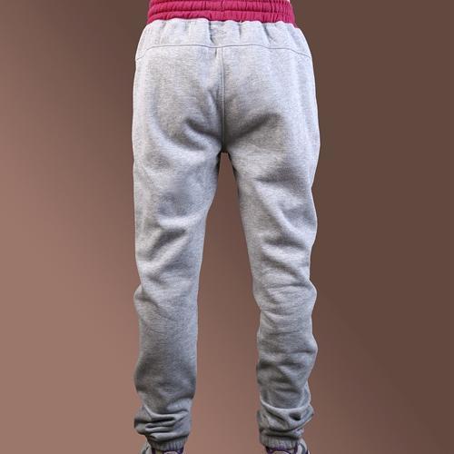 Женские штаны для бега трусцой с карманом на молнии - Анти-Пилинг, Anti-Shrink, против морщин, дышащий, Eco-Friendly, плюс размер