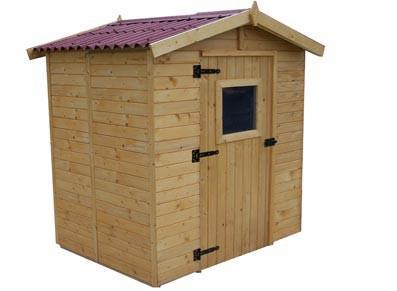 Abri de jardin en bois - Avec plancher