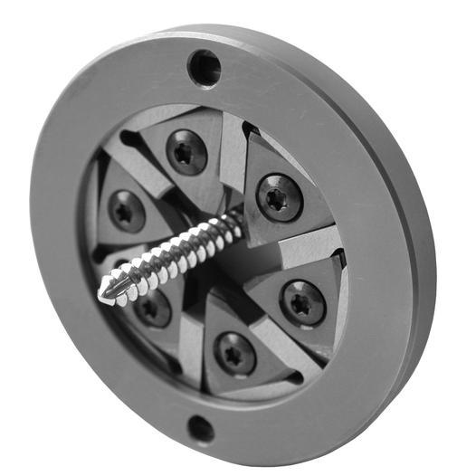 Wirbelkopf mit Wendeplatten für Maier-Maschinen - null