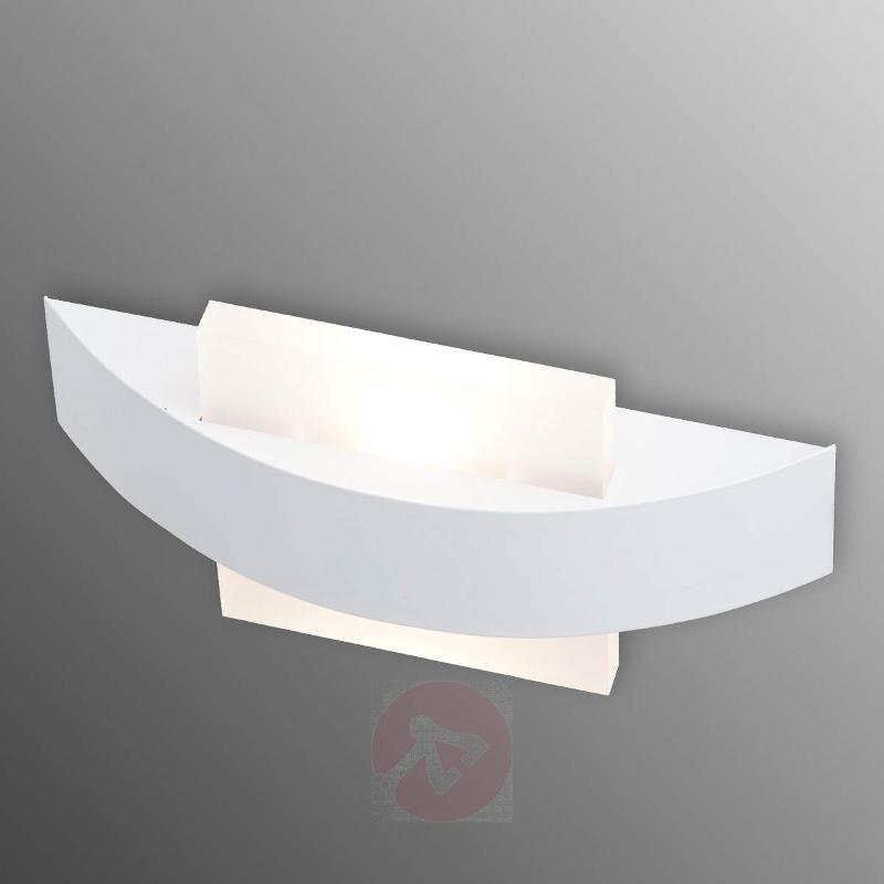 Solution LED wall light, square diffuser - Wall Lights