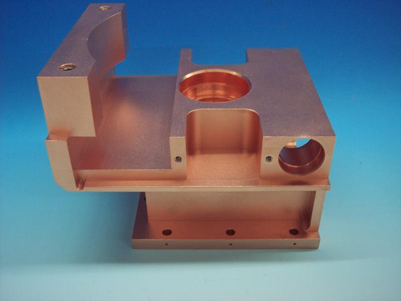 Kupfer-Präzisionsteile gefräst - null