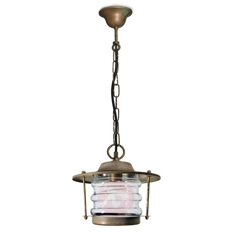 Outdoor hanging light Adessora seawater-res. - Outdoor Pendant Lighting