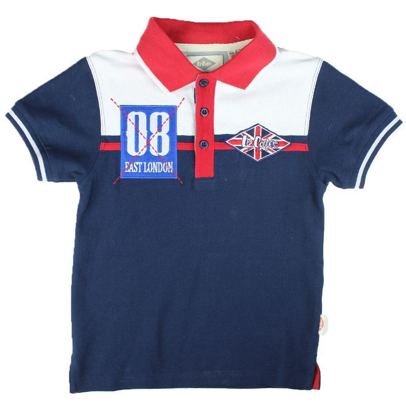 Importateur de Polo manches courtes Lee Cooper du 2 au 5 ans - T-shirt et Polo manches courtes