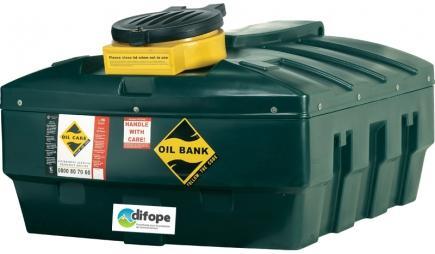 Cuves Collecteurs D'huiles Usagées - 1251 L - CDPHU1200H-Cuves de récupération et stockage d'huiles usagées