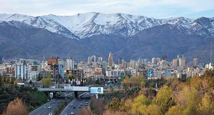 Iran et Pays du Caucase