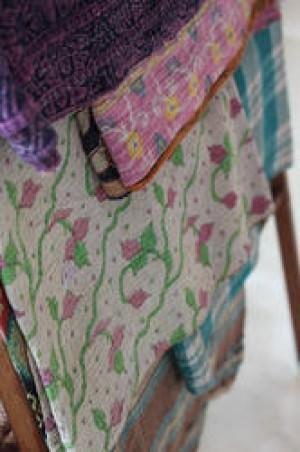 Reversible Indian Queen Quilt -