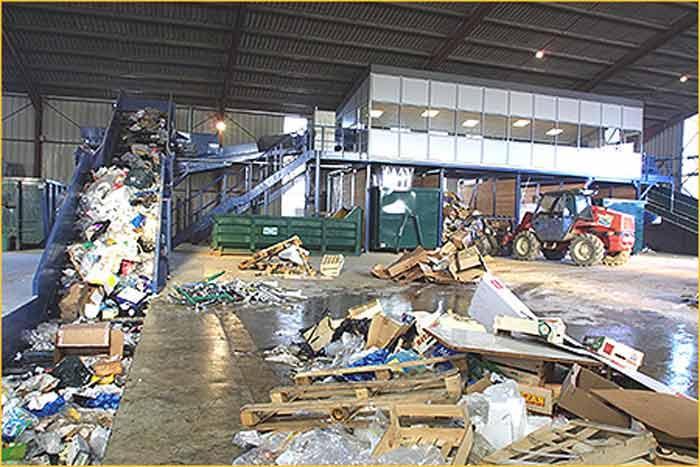 Traitement des déchets - Équipements pour la construction et la viabilisation