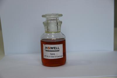 Paquet des additifs pour huile pour engrenages