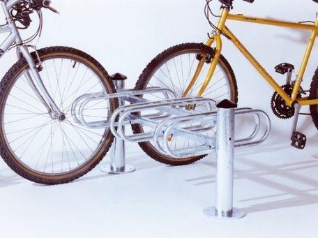 Support Cycles 3 - 6 Places Simple- Double Face Mercure - Abrisbus