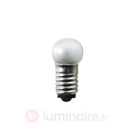 Ampoules de rechange basse tension E5, 0,6W, 12V - Ampoules à l'unité