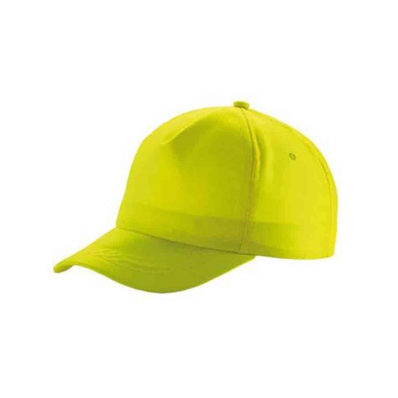 Casquette fluorescente jaune fluo - Casquettes