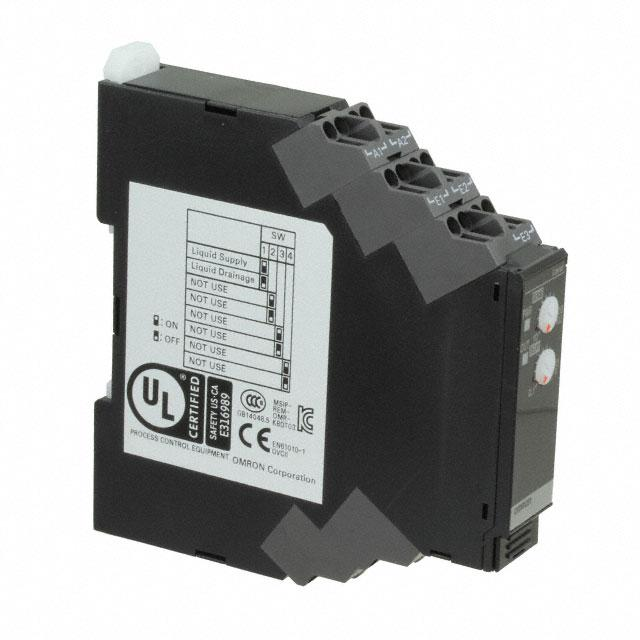 CONTROL LIQ LEV 24VAC/DC DIN - Omron Automation and Safety K8DT-LS1CD