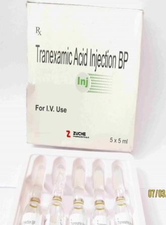 Tranexamic Acid Injection  - Tranexamic Acid Injection
