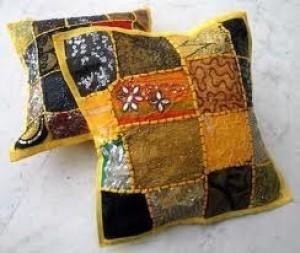 Torpicana Kantha Pillow Cover -