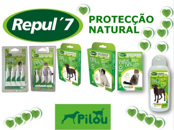 PILOU Repul'7 - O seu patudo sempre protegido.  Repelente Natural para cães e gatos.