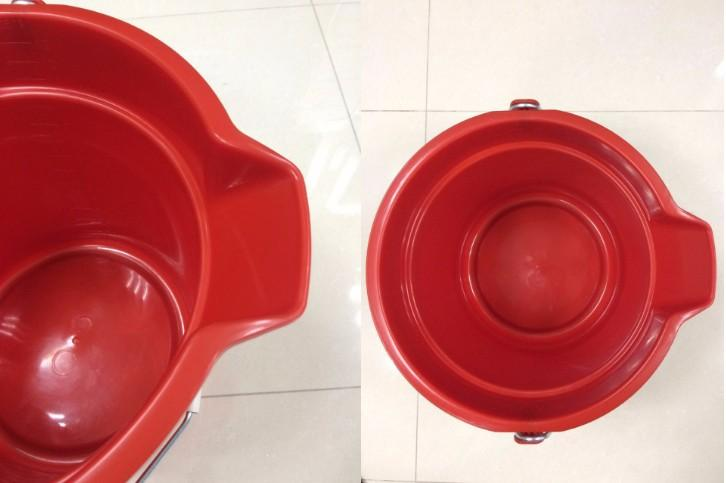 10L/14L plastic measuring scale/marks water bucket - Plastic/PP water bucket with measuring scale /marks