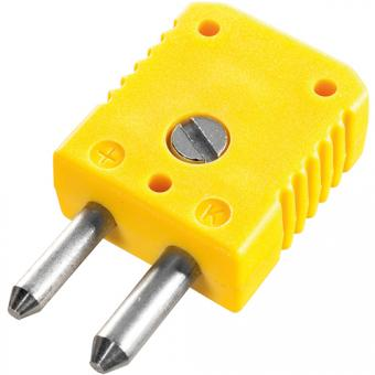 Standard thermocouple connector type K, yellow - Thermocouple connectors