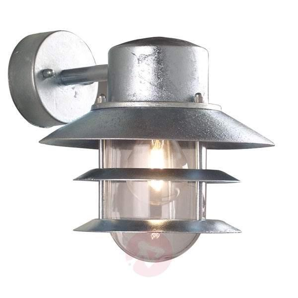 Hot-dipped outdoor wall lamp Blokhus, suspended - Outdoor Wall Lights