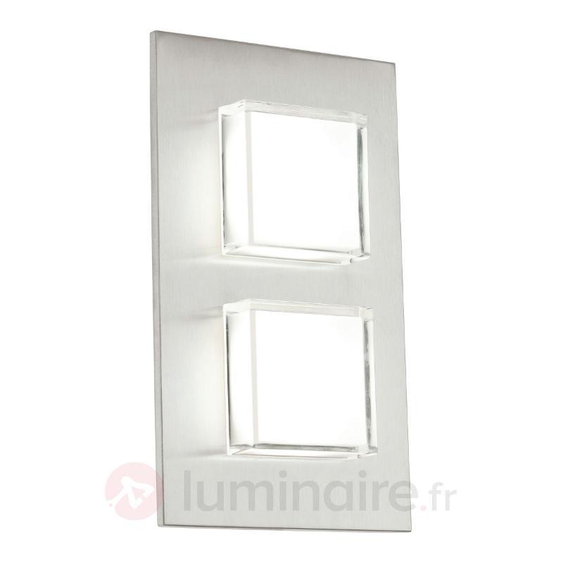 Applique d'extérieur LED Pias avec deux flammes - Appliques d'extérieur LED