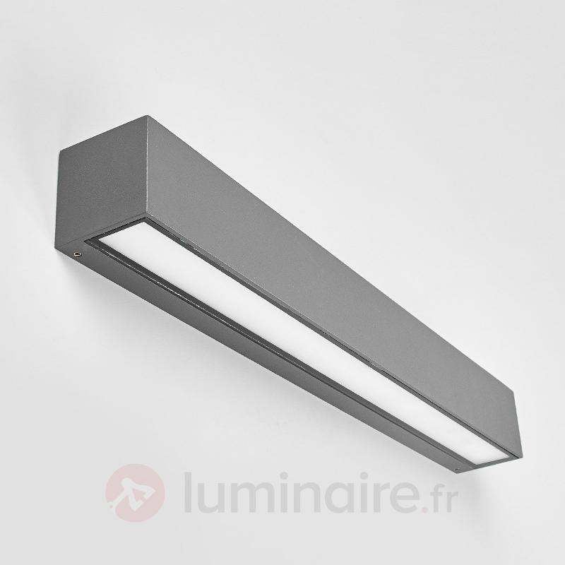 Applique d'extérieur LED carrée Tuana - Appliques d'extérieur LED